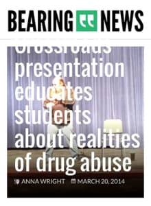 Drug & Alcohol Abuse Speaking Engagements